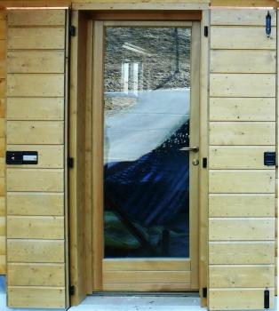 Pin porte finestre spess 80 doppio o triplo vetro con certificazione ce on pinterest - Finestre a doppio vetro ...